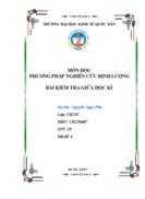 Đánh giá các nhân tố ảnh hưởng đến sự hài lòng của người dân về dịch vụ công tại UBND cấp xã phường trên địa bàn Thành phố Hà Nội