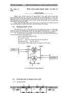 Thiết kế hệ thống bảo vệ cho trạm biến áp 220 kV