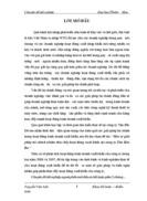 Một số giải pháp tài chính nhằm thúc đẩy hoạt động xuất khẩu tại công ty Tân Bắc Đô